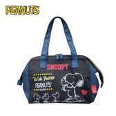 【正版授權】史努比 輕便 保冷袋 手提袋 便當袋 保冷提袋 保溫袋 Snoopy PEANUTS - 111178