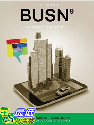 [106美國直購] 2017美國暢銷軟體 BUSN (with BUSN Online, 1 term (6 months) Printed Access Card)