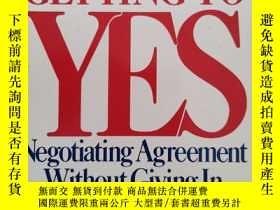 二手書博民逛書店GETTING罕見TO YESY226277 bx Penguin Books 出版1991