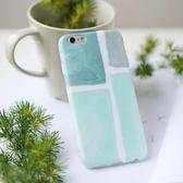 正韓文藝冷淡風蘋果7plus手機殼6s磨砂小清新iphone6綠色北歐風套禮物限時八九折