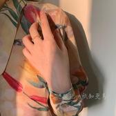 戒指 「知更鳥」歌劇院 包郵復古巴洛克貓眼石氣質法式開口戒指可調節 曼慕衣櫃