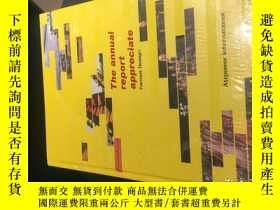 二手書博民逛書店The罕見annual report appreciate 年度