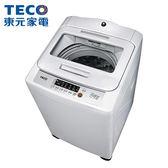 [TECO 東元]12公斤 FUZZY人工智慧定頻超音波洗衣機 W1209UN