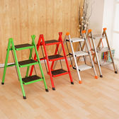 折疊梯-梯子家用折疊梯凳三四五步加厚鐵管踏板室內人字梯三步梯小梯子 igo克萊爾