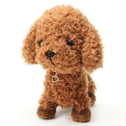 日本Pups貴賓狗絨毛娃娃玩偶擺飾741461代購通販屋