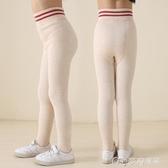 兒童打底褲女童連褲襪秋冬季加絨加厚款女孩寶寶學生兒童白色肉色打底褲襪子 麥吉良品