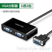 vga分配器一分二分屏器監控視頻電腦轉換器主機電視投影儀高清顯示器分頻器 全館新品85折
