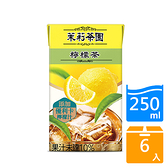 茉莉茶園檸檬茶250ml x6罐【愛買】