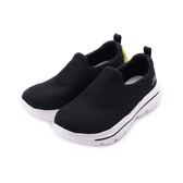 SKECHERS GO WALK EVOLUTION ULTRA 套式休閒鞋 黑白 54730BLK 男鞋
