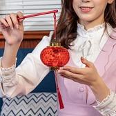 網紅手提發光水晶投影小燈籠掛飾春節元宵新年裝飾場景兒童玩具 8號店