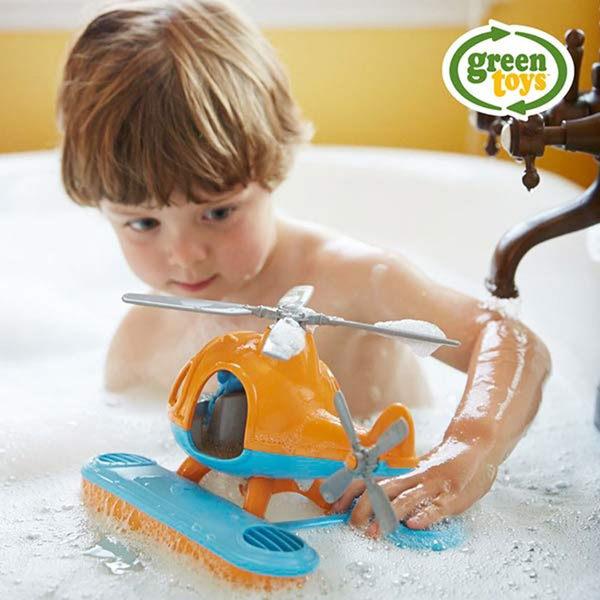 【美國Green Toys】藍蜻蜓水上直升機