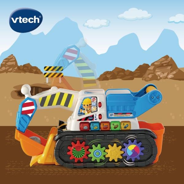 Vtech 聲光互動學習挖土機