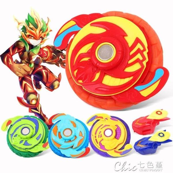 木奇靈2超控陀螺魔幻手指尖聖天靈種陀螺麒麟戰鬥王兒童玩具男孩 【快速出貨】