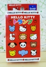 【震撼精品百貨】Hello Kitty 凱蒂貓~撲克牌-動物圖案-紅色