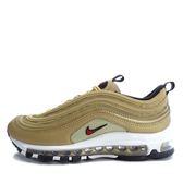 Nike W Air Max 97 OG QS [885691-700] 女鞋 運動 休閒 金 紅
