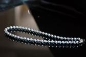 °☆╮喨喨飾品╭☆° 貝珍珠項鍊  / 灰色 / 嬌柔典雅 ,溫潤動人 ,高雅大方 展現女人味 。A106