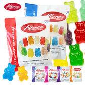 美國 Albanese 艾爾巴軟糖系列 100g 小熊軟糖 迷你小蟲 小熊 蝴蝶 小花 軟糖 糖果