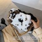 秋冬女士單肩腋下小包包女流行新款潮時尚網紅百搭手拎毛毛包 【快速出貨】