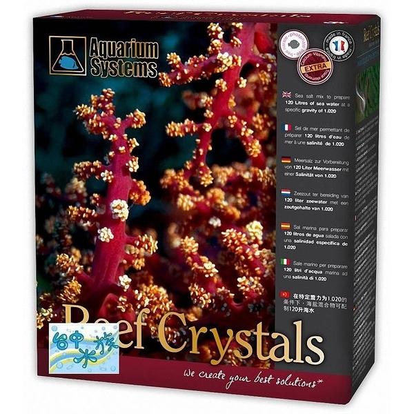 {台中水族}法國紅十字---Reef Crystal即溶珊瑚鹽 -2kg  特價