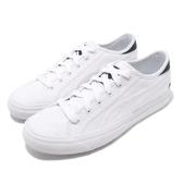 Puma 休閒鞋 Capri 白 全白 帆布鞋面 基本款 運動鞋 男鞋 女鞋【PUMP306】 36924602