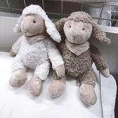 玩偶娃娃-羊  嬰幼兒安撫玩偶可愛小羊玩偶毛絨玩具羊寶寶公仔家居擺件 宜室家居