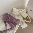 夏季上新可愛蝴蝶結小包包女2021新款潮時尚百搭少女側背斜背包女 小天使
