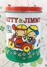 【震撼精品百貨】彼得&吉米Patty & Jimmy~三麗鷗 彼得&吉米圓形罐裝貼紙*59900