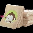 YOYO 午睡毯 珊瑚絨 小毛毯 蓋腿 雙層 單人 小毯子 午睡毯