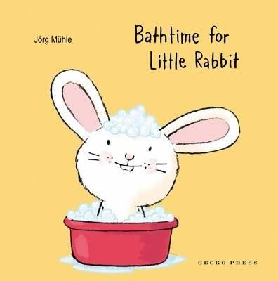 BATHTIME FOR LITTLE RABBI /硬頁書 《主題: 床邊故事.自主管理》