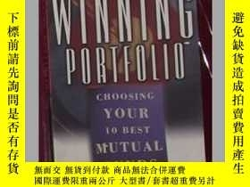 二手書博民逛書店英文原版罕見The Winning Portfolio by P