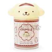 〔小禮堂〕布丁狗 造型棉花棒罐《黃棕.大臉.點點》單支包裝.60支入 4901610-06968