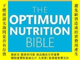 二手書博民逛書店The罕見Optimum Nutrition BibleY256260 Patrick Holford Pia
