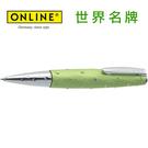 德國原裝進口 Online 星鑽格紋原子筆 39106 - 綠 /支