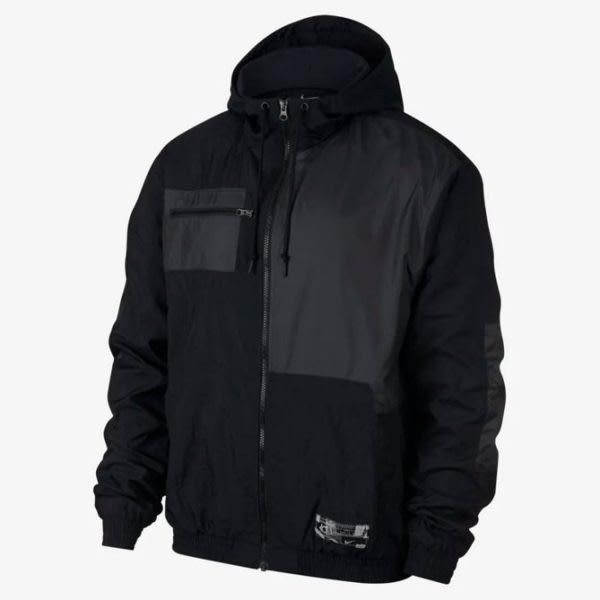 NIKE KD 男裝 連帽外套 休閒 透氣 柔軟 舒適 黑 【運動世界】 BV3332-010