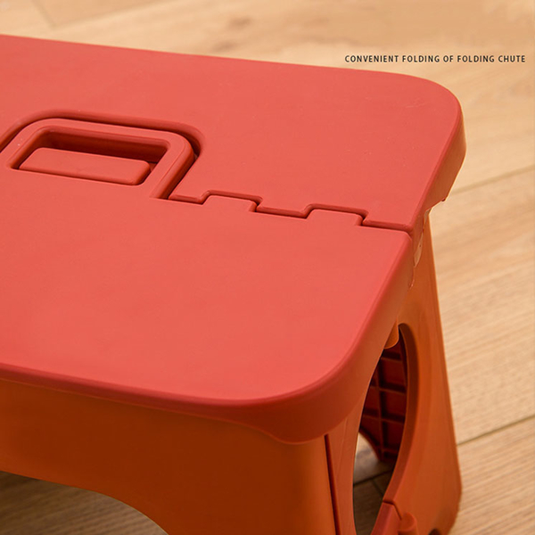 Qmishop 戶外凳 塑料凳 大號 浴室凳 兒童椅 日式手提折疊椅【J379】