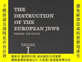 二手書博民逛書店The罕見Destruction Of The European JewsY362136 Raul Hilbe