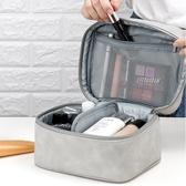 化妝收納包 ins網紅化妝包便攜超大容量多功能簡約小號化妝護膚品收納箱手提  艾維朵