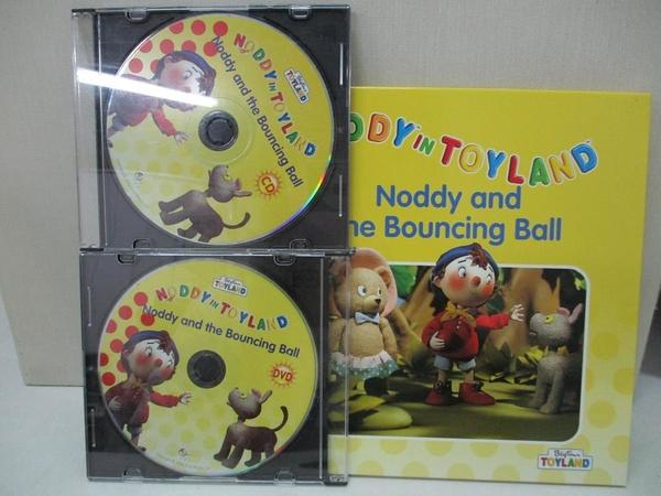 【書寶二手書T7/少年童書_AR2】Noddy in Toyland-Noddy and the Bouncing Ball_附光碟