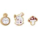 SETO CRAFT 造型磁鐵組 愛麗絲夢遊仙境 兔子先生 3入_OC09617