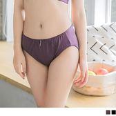 《VB0263》綠寶石素面純色彈性內褲 OB嚴選