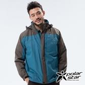PolarStar 中性 防風保暖外套『藍綠』 P18219 戶外 休閒 登山 露營 保暖 禦寒 防風 鋪棉