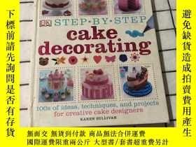 二手書博民逛書店Step-by-Step罕見Cake Decorating 烹飪書籍 糕點Y268220 Dorling Ki