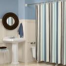 衛生間浴室浴簾套裝免打孔防水加厚防霉窗簾...