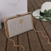 鑲鑽鏈條包-時尚優雅氣質精美女晚宴包4色73iy15[時尚巴黎]