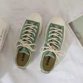 女鞋春季新款帆布鞋女學生韓版原宿ulzzang板鞋小白鞋子女夏      芊惠衣屋