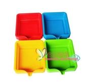 顏料盒 彩色尖嘴顏料盤分裝盤調色盤 水粉顏料分類盒幼兒園美術繪畫工具