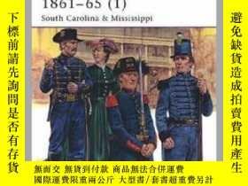 二手書博民逛書店The罕見Confederate Army 1861–65 (1) MAA 423 (damaged)-南方軍18