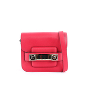 【PROENZA SCHOULER】TINY款 超mini小牛皮 PS11(金釦)洋紅色) H00083 C137K 7047