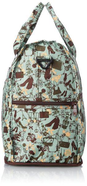 HAPI+TAS 摺疊小旅行袋 - 名媛薄荷