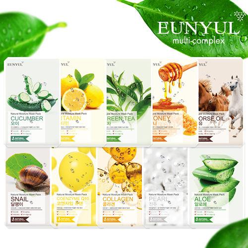 【任選12入$99】韓國 Eunyul 面膜 22ml【BG Shop】多款供選